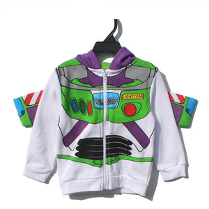 Kids Toy Story Buzz Hoodie Jacket A1081E