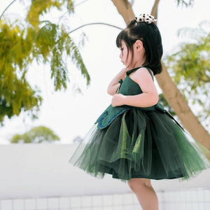 1-8Y Girls Pinafore Tulle Dress A20125J