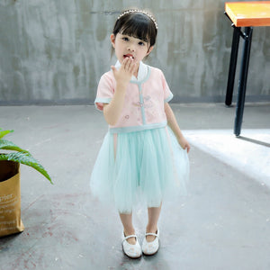 2-6Y Girls Chinese Fashion Dress A200C69G