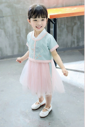 2-6Y Girls Chinese Fashion Dress A200C69F