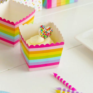 Rainbow Party Snack Cups of 12pcs/pack A70312A