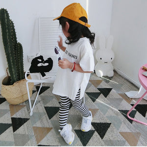 1-8Y Kids White Shirt A10423D
