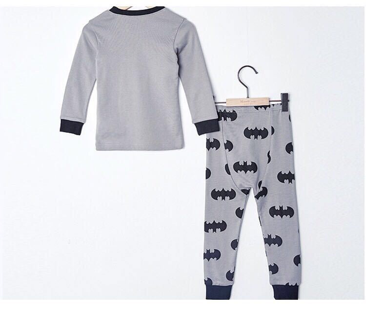1-10Y Kids Batman Pyjamas Sleepwear A40421H