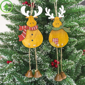 Christmas Wooden Reindeer Ornament A72523A/ A72523B
