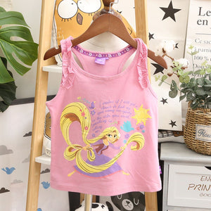 1-10Y Girls Rapunzel Shirt A20212I