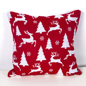 Flannel Single Sided Printed Christmas Cushion Covers X659A