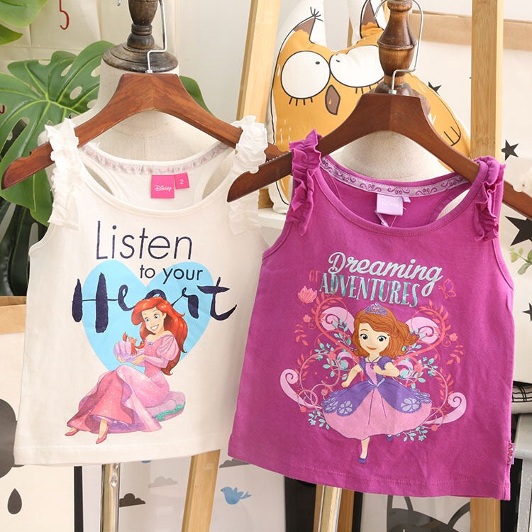 1-10Y Girls Sofia The First Shirt A20212F