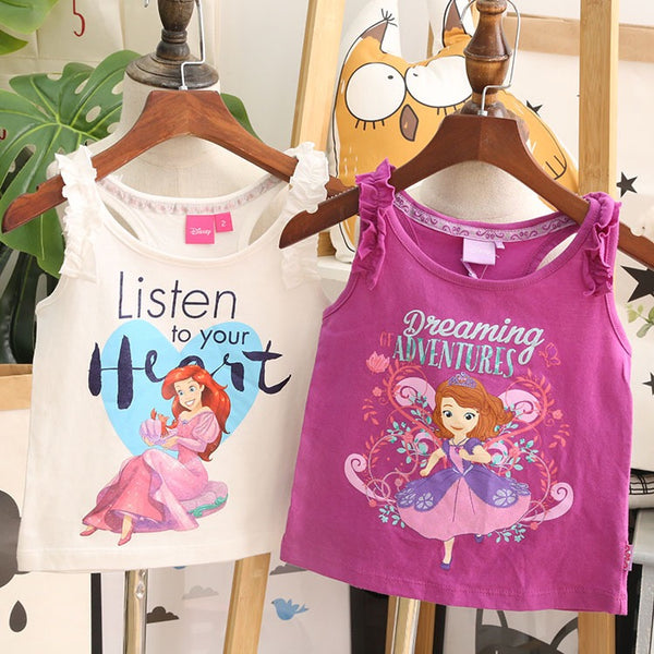 1-10Y Girls Disney Sofia The First Shirt A20212F