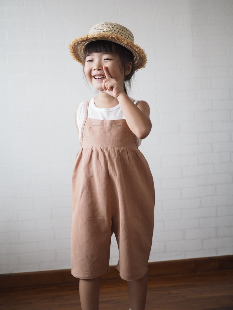 2-8Y Kids Jumpsuit A2061C
