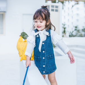 1-6Y Girls Denim Dress A20122B