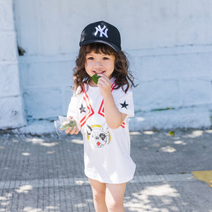 1-6Y Kids Puppy Shirt A10423E