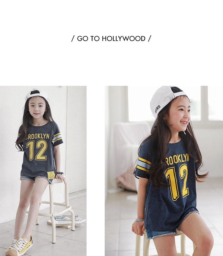 3-15Y Kids Brooklyn Shirt G21041A (Mother size available)