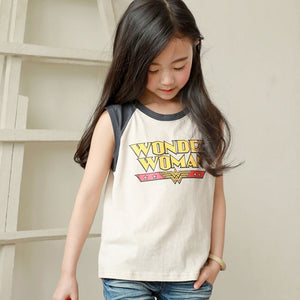 3-15Y Kids Wonder Woman Shirt G21041B