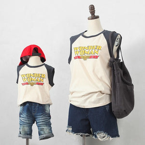 3-15Y Kids Wonder Woman Shirt G21041B (Mother size available)
