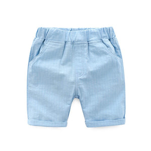 2-10Y Boys Short Cropped Pants A10314K