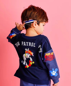 2-10Y Kids Blue Sweater A2086A
