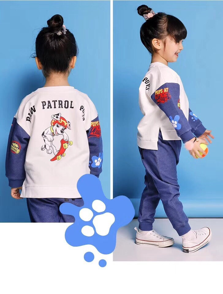 2-10Y Kids White Sweater A2086B