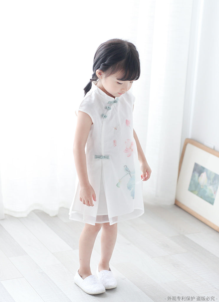 2-8Y Girls Cheongsam Dress with Lining A200C13I