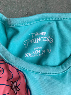 Girls Little Mermaid Hem Dress A20136G