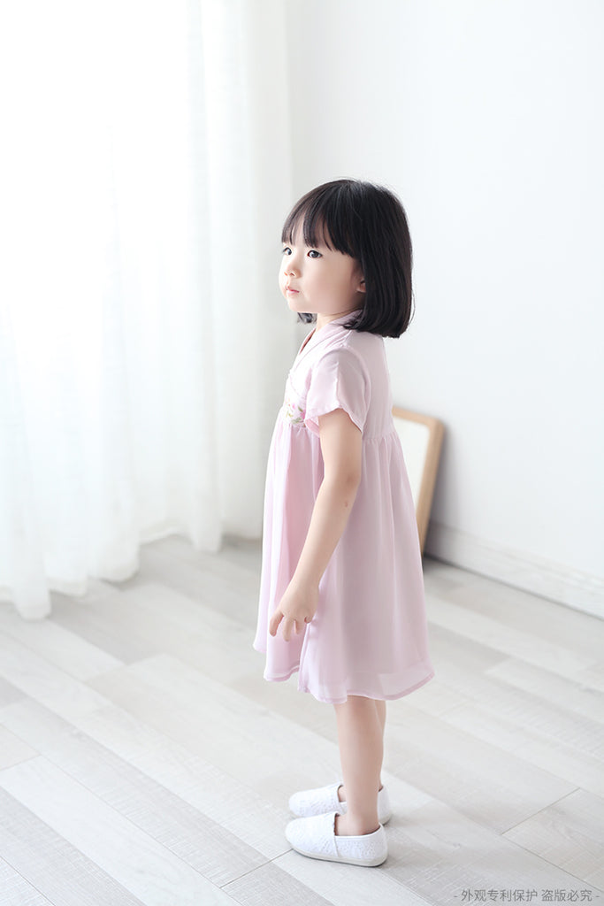 2-8Y Girls Cheongsam Dress with Lining A200C13A