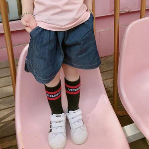 1-6Y Girls Denim Shorts A20411F
