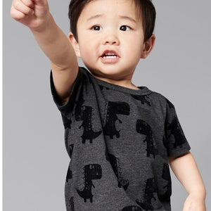 2-7Y Boys Short Sleeve Dinosaur T-Shirt A10424E