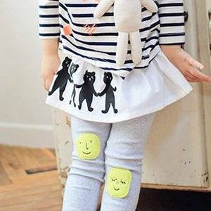 2-7Y Girls Korean Pinkideal White Skirt A20412I