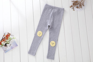 2-7Y Girls Korean Pinkideal Grey Legging Pants A2045G