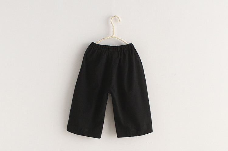 2-8Y Kids Kungfu Pants A100C31M