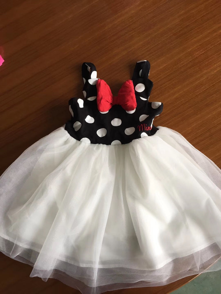 1-6Y Girls Minnie Mouse Tulle Dress A20129D