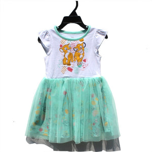 2-7Y Girls Lion King Tulle Dress A20133A