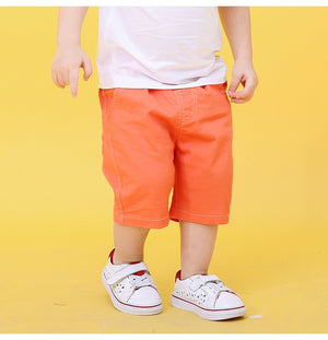 2-10Y Boys Short Cropped Pants A10314B