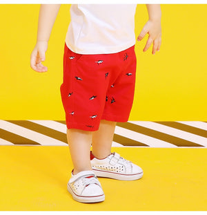 2-8Y Boys Short Cropped Pants A10314G