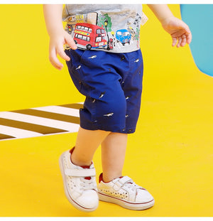 2-8Y Boys Short Cropped Pants A10314F