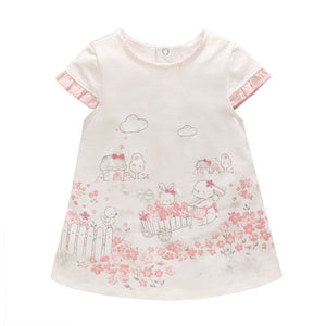 0-2Y Baby Royal Garden Dress A40611B