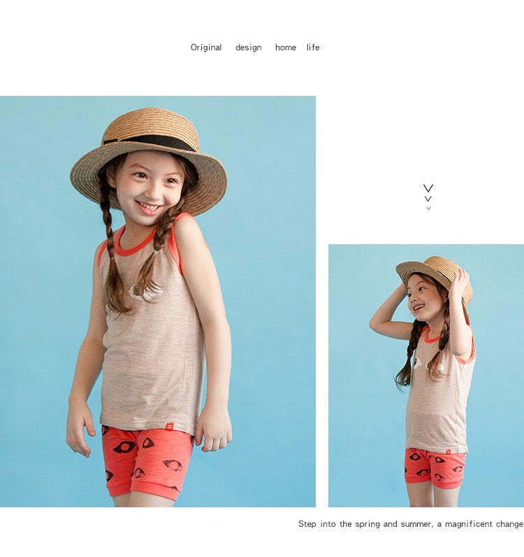 1-4Y Korea Vaenait Kids Top and Bottom 2pcs Set K10341B