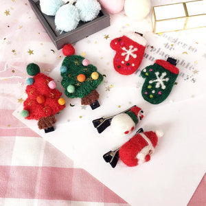 Adults / Kids Christmas Hairclips A323G902A / A323G902B / A323G902C