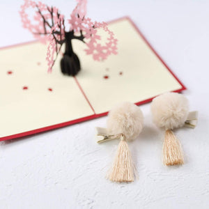 Kids Pair of Chinese Hairclips A323G881A / A323G881B / A323G881C / A323G881D