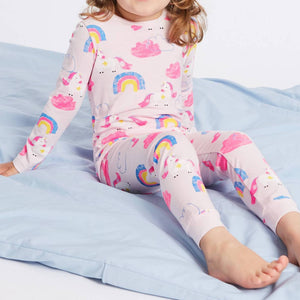Rainbow Pyjamas Sleepwear 2pcs Set A40422C