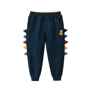Kids Cotton Dinosaur Pants A10313L