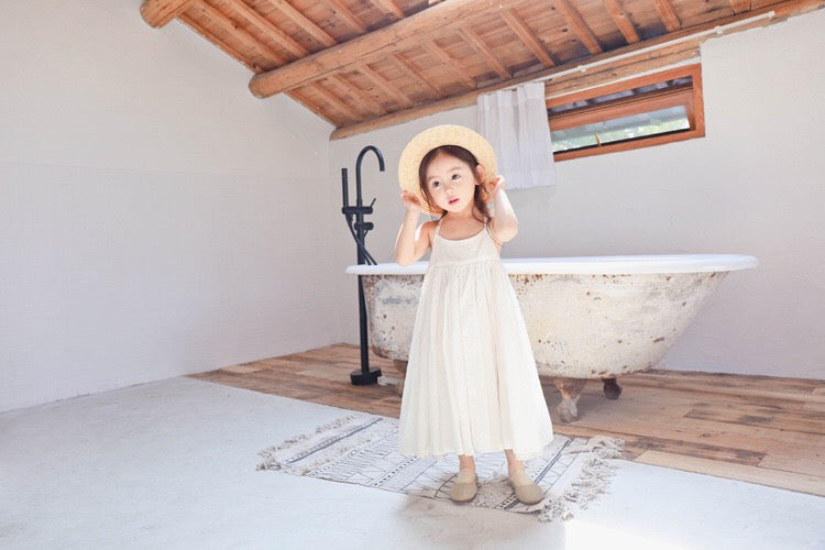 1-8Y Girls Maxi Flare Dress A20126L