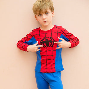 2-12Y Kids Spiderman Pyjamas Sleepwear A40421I