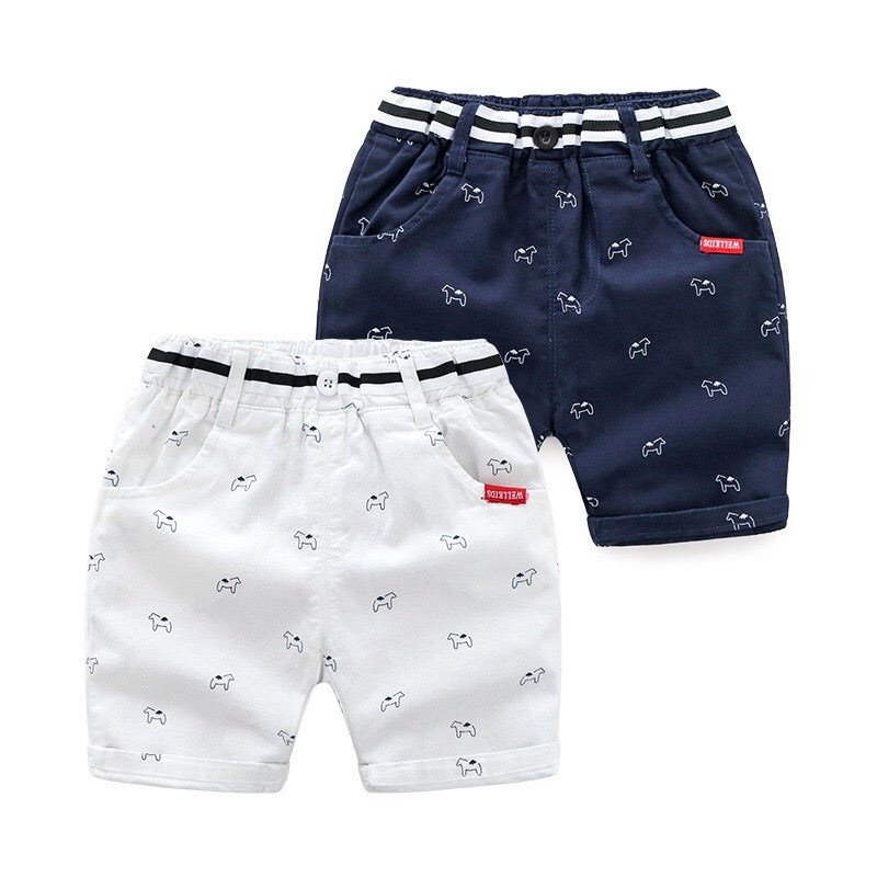 1-7Y Kids Cropped Pants A10313B