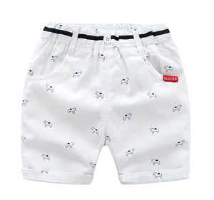 1-7Y Kids Cropped Pants A10313C