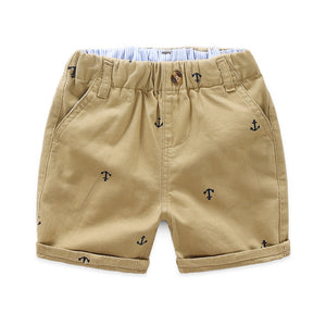 2-8Y Kids Cropped Pants A10313D