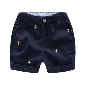 2-8Y Kids Cropped Pants A10313E