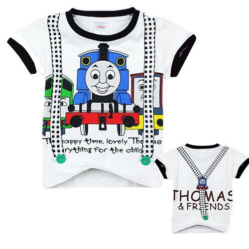 2-7Y Boys Short Sleeve Thomas T-Shirt A10414I