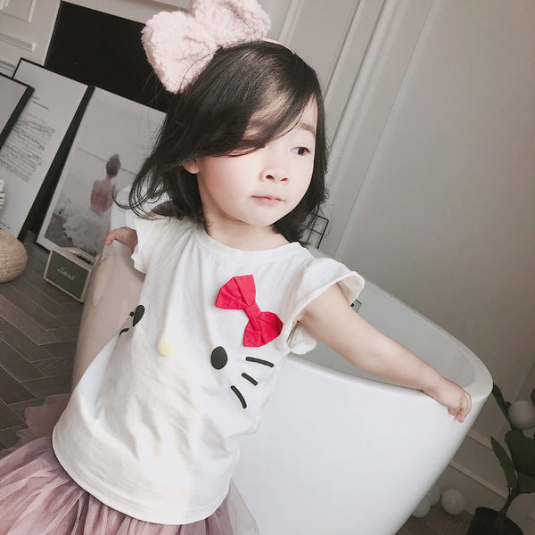 1-8Y Girls Hello Kitty Shirt A20211H