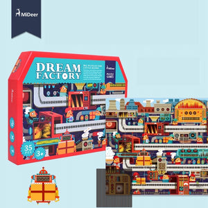 Mideer Dream Factory 35 Pieces Big Puzzle (Animate) MD2011A