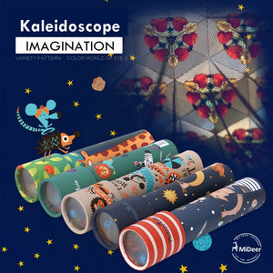 Mideer Magic Kaleidoscope Science Toy MD1011A/MD1011B/MD1011C/MD1011D/MD1011E/MD1011F/MD1011G